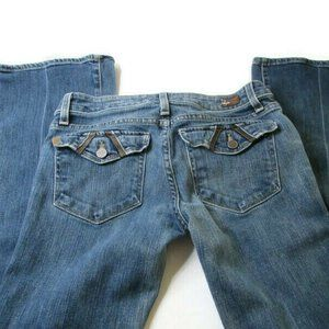"""Paige Jeans Womens Skinny Flare 27 x 33"""""""